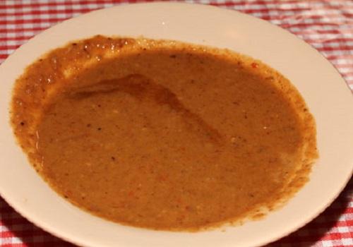resep cilok saus kacang bahan kuah