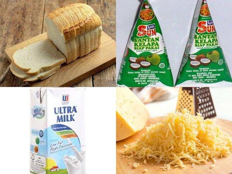 cara membuat stup roti | resep stup roti keju tabur